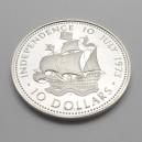 Stříbrná mince Den nezávislosti 10. červenec 1973, Proof