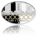 2015 - Stříbrná mince 1 NZD Miliontý Ford - kolorováno