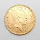 Zlatá mince Švédsko 5 Koruna 1920 W