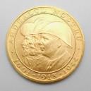 Zlatá mince Rumunsko 20 Lei 1944