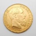 Zlatá mince Belgie 20 Frank 1875