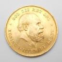 Zlatá mince Nizozemí 10 Gulden 1875