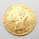 Zlatá mince Itálie (Sardinie) 20 Lira 1858 P