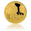 2015 - Zlatá mince 5 NZD Pražské povstání - Proof
