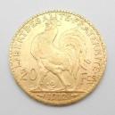 Zlatá mince Francie 20 Frank 1912