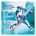 Sada oběžných mincí České republiky 2015 - MS v ledním hokeji 2015