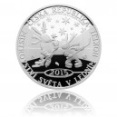 2015 - Stříbrná medaile MS v ledním hokeji 2015