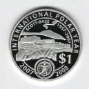 Stříbrná pamětní mince Mezinárodní polární rok - rok 2007