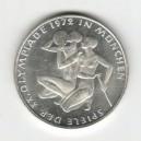 Stříbrná pamětní mince LOH Mnichov-Dva sportovci, b.k., rok 1972