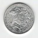 Stříbrná pamětní mince Římské dohody 1987, b.k.
