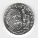 Stříbrná pamětní mince Carl Zeiss, b.k., rok 1988