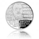 2015 - Stříbrná mince Bedřich Hrozný rozluštil chetitštinu, Proof