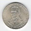 Stříbrná pamětní mince Friedrich Wilhelm Raiffeisen, b.k., rok 1968