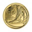 2008 - Zlatá medaile MS ve fotbale, Au 1/2 Oz