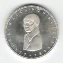 Stříbrná pamětní mince Heinrich von Kleist, b.k., rok 1977