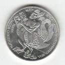Stříbrná pamětní mince Hans Jacob Christoph von Grimmelshausen, b.k., rok 1976