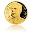 2015 - Zlatá mince 10 NZD Ivo Viktor - Au 1/4 Oz