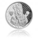 2015 - Stříbrná mince 1 NZD Karel IV.