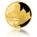 2015 - Zlatá medaile Hrad Karlštejn - Au 1 Oz