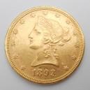 Zlatá mince USA 10 Dollars 1893