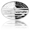 2016 - Stříbrná mince 1 NZD 40 let Concordu