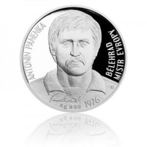 2016 - Stříbrná mince 2 NZD Antonín Panenka - Proof