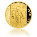 2016 - Zlatá medaile Československá národní rada - číslováno - Au 1/2 Oz
