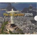 Sada oběžných mincí Slovenské republiky 2016 - Rio de Janeiro 2016