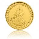 2016 - Zlatá medaile Replika dukátu Clemense Augusta von Bayern