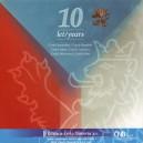 Sada oběžných mincí České republiky 2003 - 10 let ČR