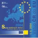 Sada oběžných mincí České republiky 2004 - Vstup ČR do EU