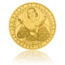 2016 - Zlatá investiční mince 500 NZD 100dukát sv. Víta