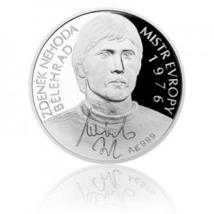 2016 - Stříbrná mince 2 NZD Zdeněk Nehoda - Proof