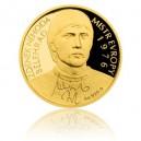 2016 - Zlatá mince 10 NZD Zdeněk Nehoda - Au 1/4 Oz