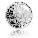 2016 - Stříbrná medaile Staroměstský orloj - Býk