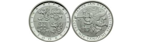 Stříbrné mince České republiky