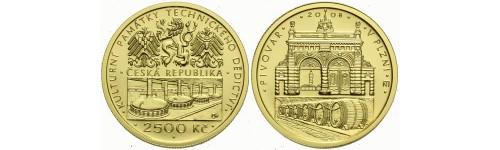 Zlaté mince České republiky