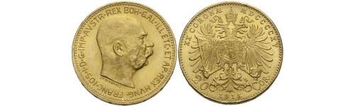 Zlaté historické mince