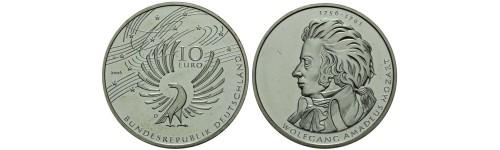 Stříbrné mince Německo
