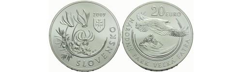 Stříbrné mince Slovensko