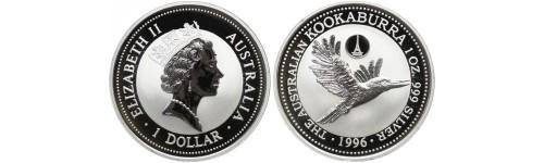 Stříbrné mince Austrálie
