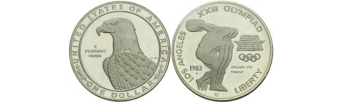 Stříbrné mince USA